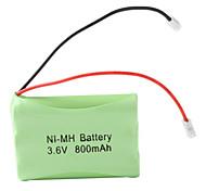 Ni-MH AAA batteria (3.6v, 800 mAh)