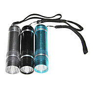 ménage en acier inoxydable dur portable léger Lampe de poche
