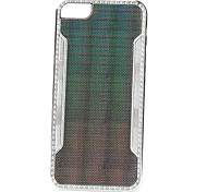 galvanoplastia estilo de alumínio caso difícil de ponta para iphone 5/5s