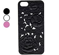 talla patrones florales caso duro para el iphone 5/5s (colores surtidos)