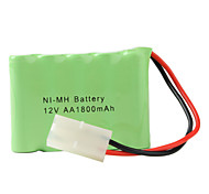 Double Layer Ni-MH AA Battery (12v, 1800 mAh)