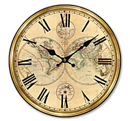 Country World Wall Clock