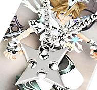 Bijoux Inspiré par Kingdom Hearts Roxas Anime/Jeux Vidéo Accessoires de Cosplay Colliers Argenté Alliage Masculin