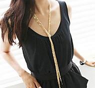 Frauen vintage lange Halskette