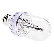 E26/E27 3 W 9 Dip LED 300 LM Natural White Globe Bulbs AC 220-240 V