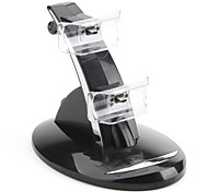 Dual USB Charging Stand for PS3 Controller (Black)