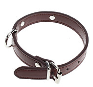 Adjustable Fashionable PU Leather Collar for Dogs (Assorted Color)