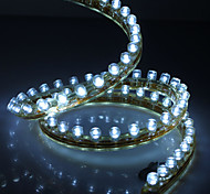 Waterproof 120cm 120-LED White LED Strip Light for Car (12V)