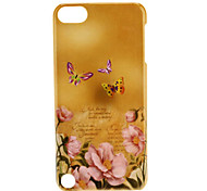 Butterfly and Flower Pattern Hard Case for iTouch 5