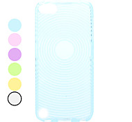 Fingerprint Pattern Soft TPU Case for iTouch 5 (Assorted Colors)