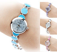 Women's Alloy Analog Quartz Bracelet Watch (Silver)