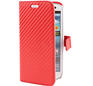Grass Mat Grain Design PU Leather Case for Samsung Galaxy S3 I9300 (Assorted Colors)