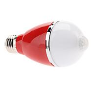 Bombillas Globo Sensor E26/E27 5 W 5 LED de Alta Potencia 460 LM 3000K K Blanco Cálido AC 100-240 V