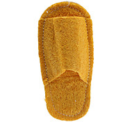 Yellow Slippers Style Tooth Cleaning Green Loofah Pet Toys