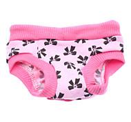 Собаки Брюки Розовый Одежда для собак Весна/осень Бант