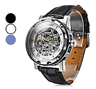 Men's Watch Mechanical Skeleton Hollow Engraving