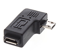 Micro USB Male to Micro USB Female Adapter