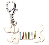 Dog tags Rainbow Dog Style Collar Charm for Dogs Cats
