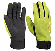 Outdoor Non-slip Warm Keeping Fleeces Long Fingers Gloves