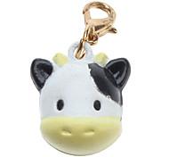 Gatos / Cães Marcadores Vaca leiteira / Bonitinho e fofinho Branco Metal