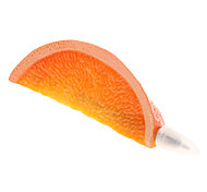 Orange Shaped Blue Ink Ballpoint Pen with Magnet (Orange)