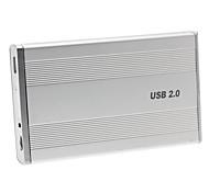 "3.5 ""USB 2.0 IDE Alluminum HDD Case Externo"