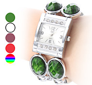 Women's Bracelet Plastic Analog Quartz Watch (Assorted Colors)