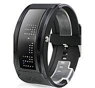 Men's Watch Sports LED Programmable Display Silicone Strap Cool Watch Unique Watch