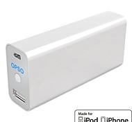 OPSO ipowerjuice classico powerstation pack per iphone, ipad e più (5200mAh, mfi CE ROHS certificato)