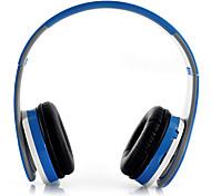 Elegante e dobrável Auscultadores MP3 com built-in rádio FM