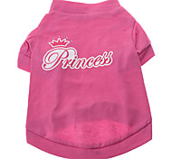 Little Princess Pattern T-Shirt for Dogs (XS-L)