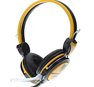 Ergonomic Hi-fi Headphone with Microphone for Gaming & Skype