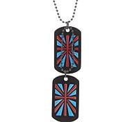 The Union Jack двойное ожерелье табличка