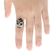 Men's/Women's Alloy Ring Crystal Alloy