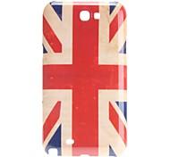 Retro Design UK National Flag Pattern Hard Case for Samsung Galaxy Note 2 N7100