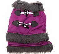 Buckskin Velvet Top Grade Coat for Dogs (Purple,XS-XL)