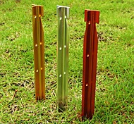 Longer And Wider T-Shaped Aluminum Alloy Nail for Camping(4 PCS/Pack,Random Color)