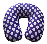 Patrón de puntos en forma de U Travel Neck Pillow (color al azar)