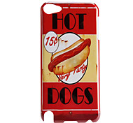 Hot Dogs Pattern Hard Case for iTouch 5