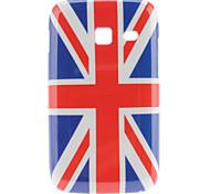 Engeland Nationale Vlag Pattern Hard Case voor Samsung Galaxy Y S6102 Duos