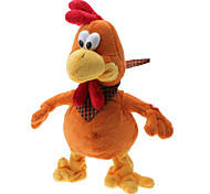Singing and Dancing Toy Sentimental Crazy Plush Yellow Chicken (3xAA)