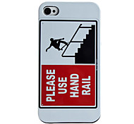Advertentie Style Hard Case voor iPhone 4/4S