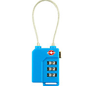 New 3-digit Combination Lock (Random Color)