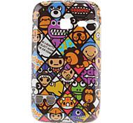 Animal Pattern Hard Case voor Samsung Galaxy Y S6102 Duos