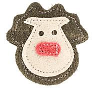 Perros Juguetes Juguete Mordedor Textil Marrón