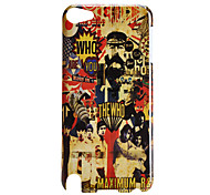 Handsome Man Pattern Hard Case for iTouch 5