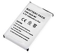 3.7V 1300mAh Li-Polymer batteria di ricambio per GPS Garmin iQue M5