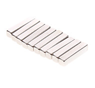 10-Pack Super-Strong Rare-Earth RE Magnets (14x2.9x2.9mm)