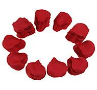 Partito da sposa di seta petali di rosa rossa (1000-pack)