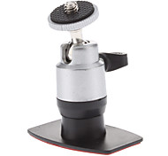 Car Screw Head Rotatable 3M Stickup Mount Stander for Camera (HD-052A, Load Bearing: 500g)